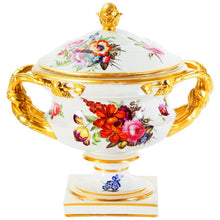 English Derby Porcelain Centerpiece, Early 19th Century 'circa 1784-1820'