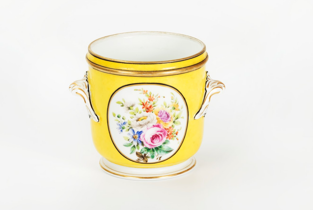 Plant pot, Paris Sevre style 19th century,