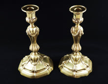 Pair of French Brass Candlesticks, Late 19th-Early 20th Century