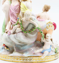 Porcelain Figure Group of Venus and Muses Samson 19th Century, Sevres French
