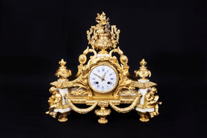 A French Ormolu Mantel Clock France, Mid to Late 19th Century