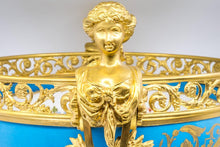 French Sèvres Porcelain in Gilt Bronze Mount, Hand-Painted, France,1771