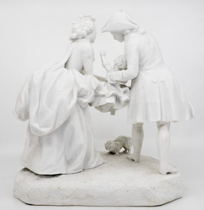 French Biscuit Figures, Mid-19th Century