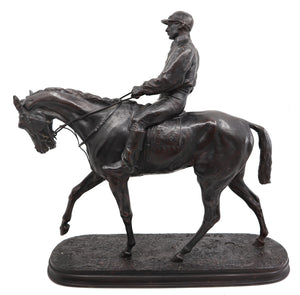 Horse and Jockey No. 1 (The Derby Winner), by Pierre Jules Mêne
