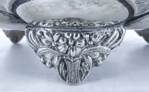 Presentation bowl, Belgian, late 19th. Century/early 20th century
