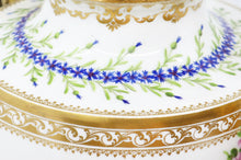 18th Century French Hand-Painted Porcelain in Gilt-Mount (Ormolu), Centrepiece