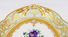 French Le Tallec Hand-Painted Porcelain Soupière, Mid-20th Century, Rococo Style