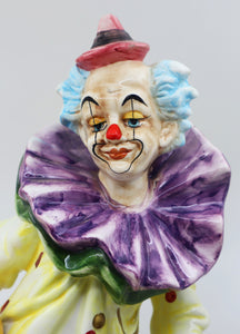Hand-Painted Clown, Capodimonte, Italy