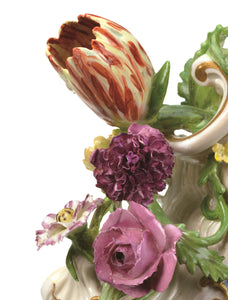 Mantel Clock Meissen Hard- Paste Porcelain, 1745-1755