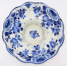 Delft Emblematic Blue and White Hand-Painted Porcelain, Dutch 19th Century