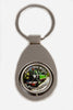 Key chain metal Puffing Billy