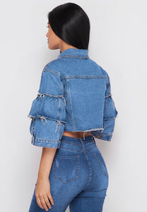 Diva Denim Blue Jacket