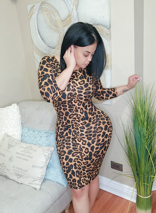 Jungle Book BodyCon Dress