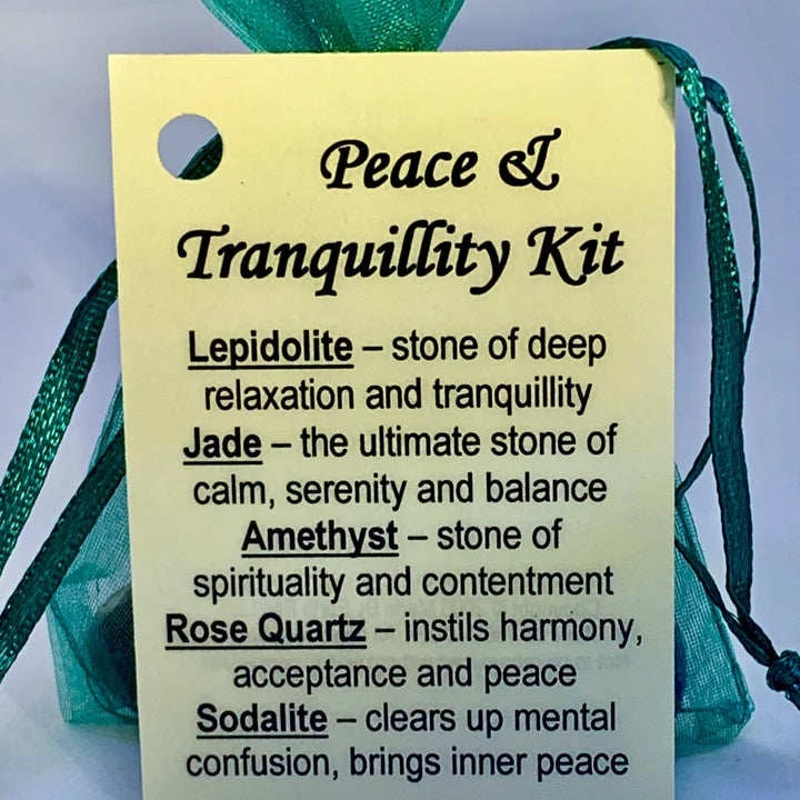 Peace & Tranquillity - Crystal Kit