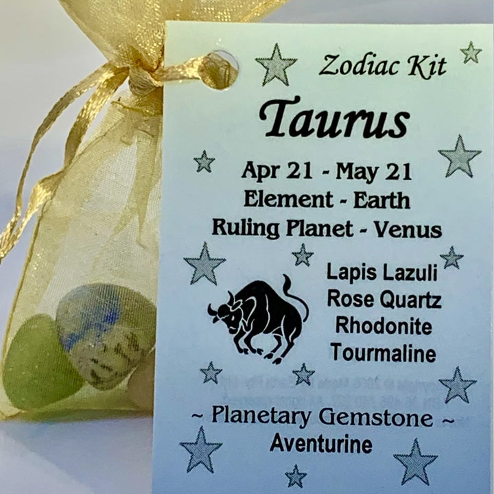 Zodiac - Taurus Crystal Kit
