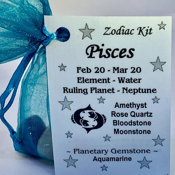 Zodiac - Pisces Crystal Kit