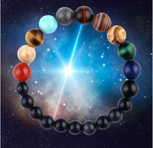 Eight Planets Natural Stone Solar Chakra Bracelet