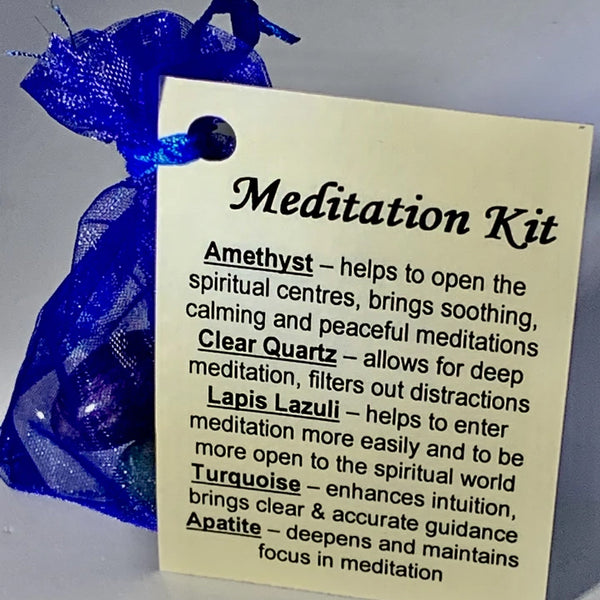 Meditation - Crystal Kit