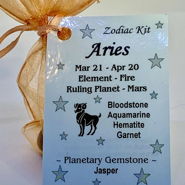 Zodiac - Aries Crystal Kit