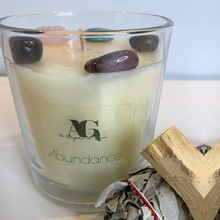 ABUNDANCE - Crystal Infused Candles