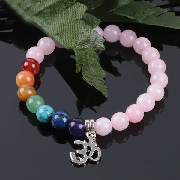 Natural Stone Crystal Bracelet