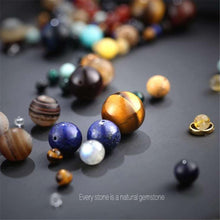 Astronomical Tiger Eye Gem Stone Bracelet