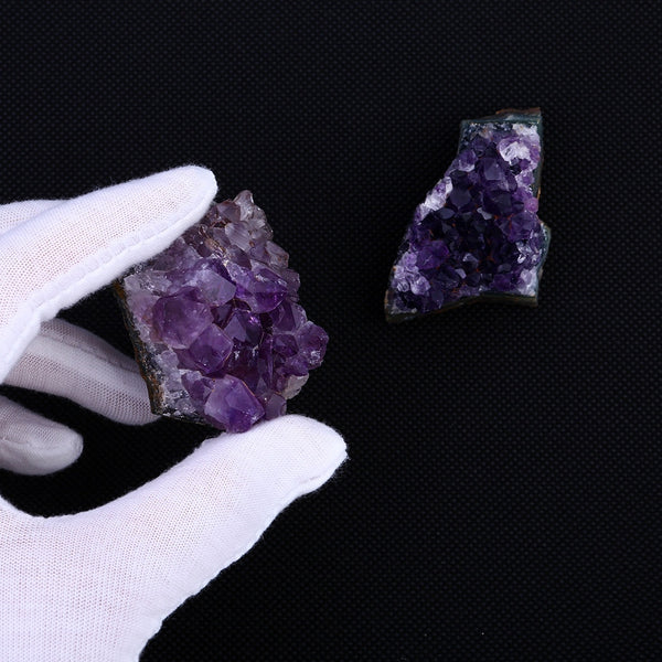 Natural Raw Amethyst Crystal Cluster