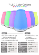 Cool Mist Ultrasonic Air Humidifier