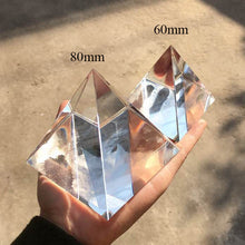 Healing and Protection Crystal Galaxy Pyramid