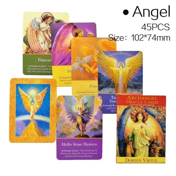 Magic Oracle Fate Cards