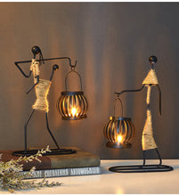 Metal Candlestick Home Decoration
