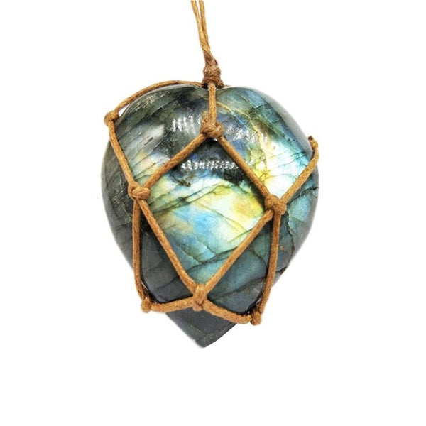 Natural Labradorite Protection Necklace