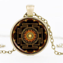 Spiritual Yantra Necklace