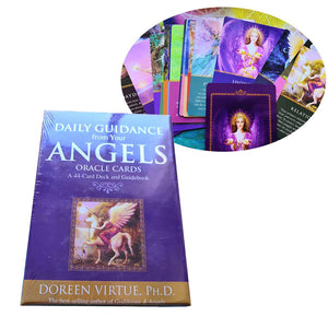 Daily Guidance Angel Oracle Tarot Cards