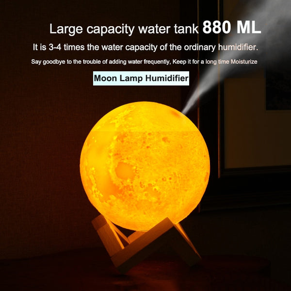 3D Moon Lamp Light Diffuser