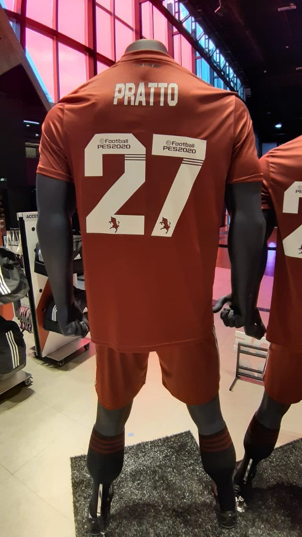 River Plate Alternative Jersey 2019 Honor to Torino - PRATTO 27