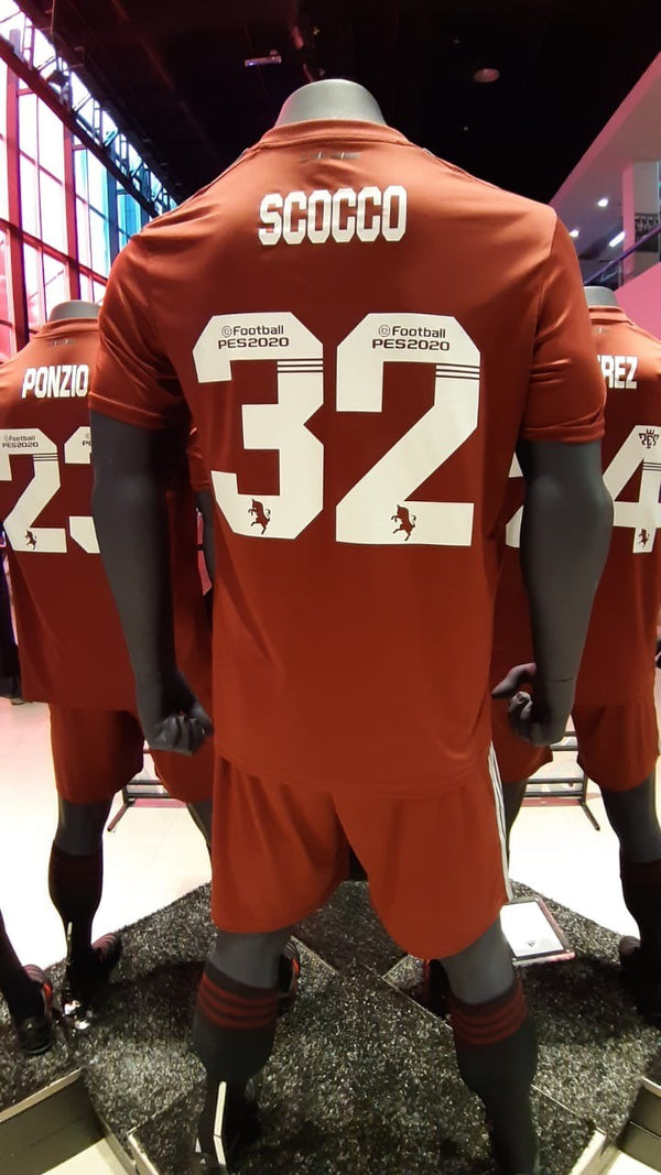 River Plate Alternative Jersey 2019 Honor to Torino - SCOCCO 32