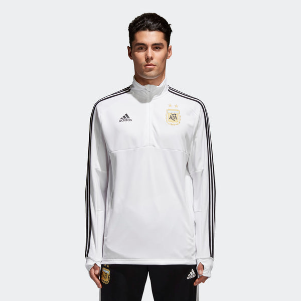 Argentina White Training Pullover