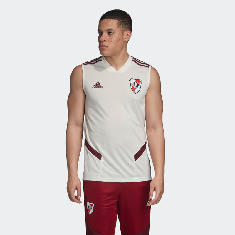 River Plate Training Sleeveless Jersey (White)