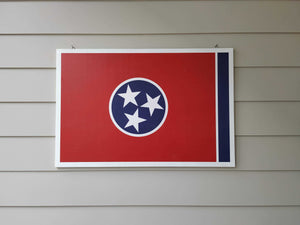Alabama State Flag Wall Art - Down Home Products