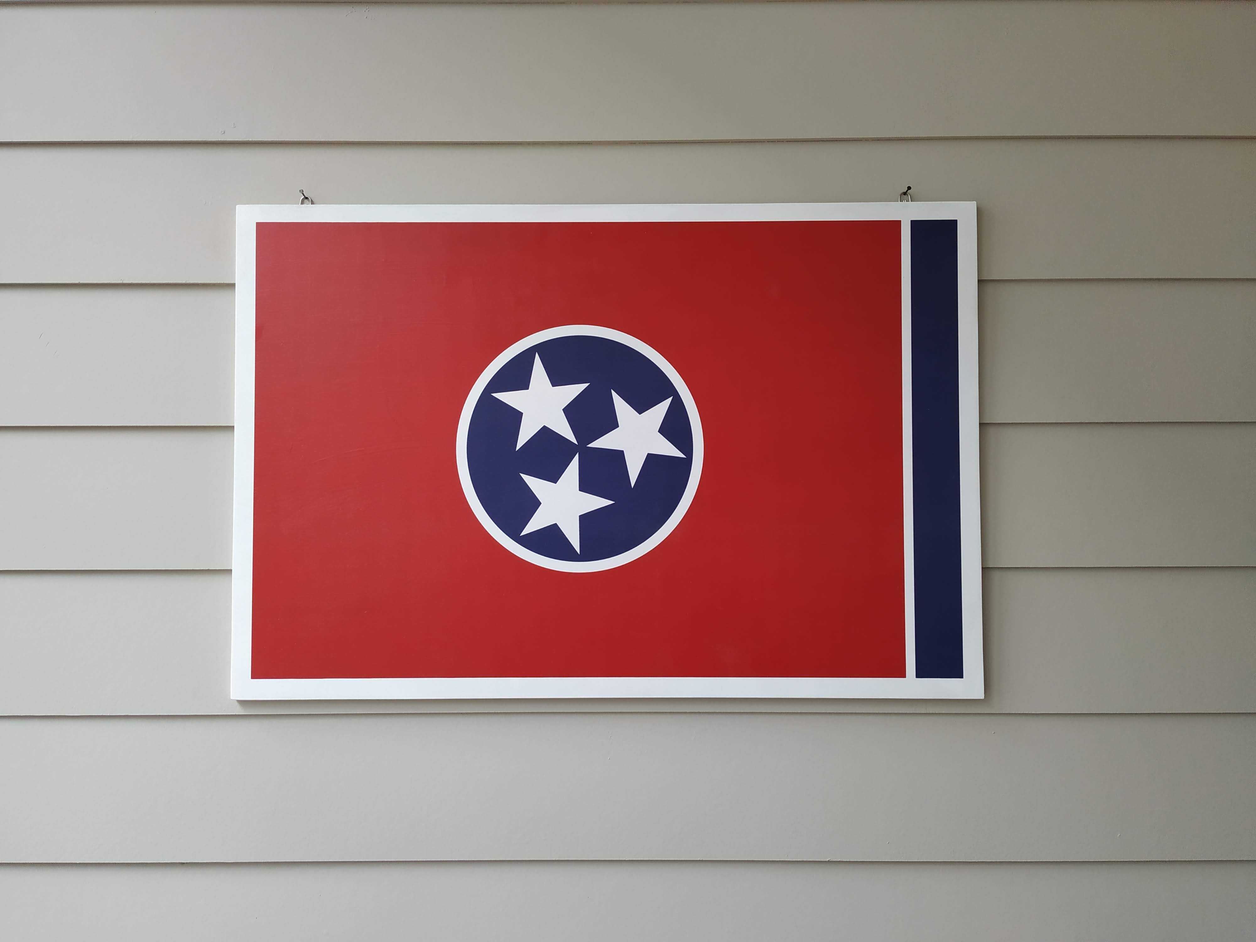 Coast Guard Flag Wall Art - Down Home Products