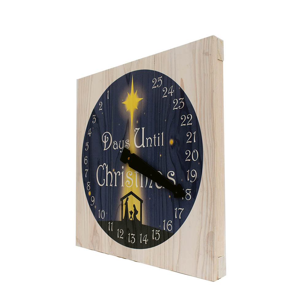 Christmas Advent Clock - Down Home Products
