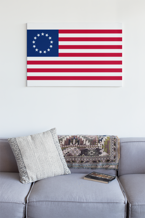 Betsy Ross Flag Wall Art - First Flag of the US - Down Home Products