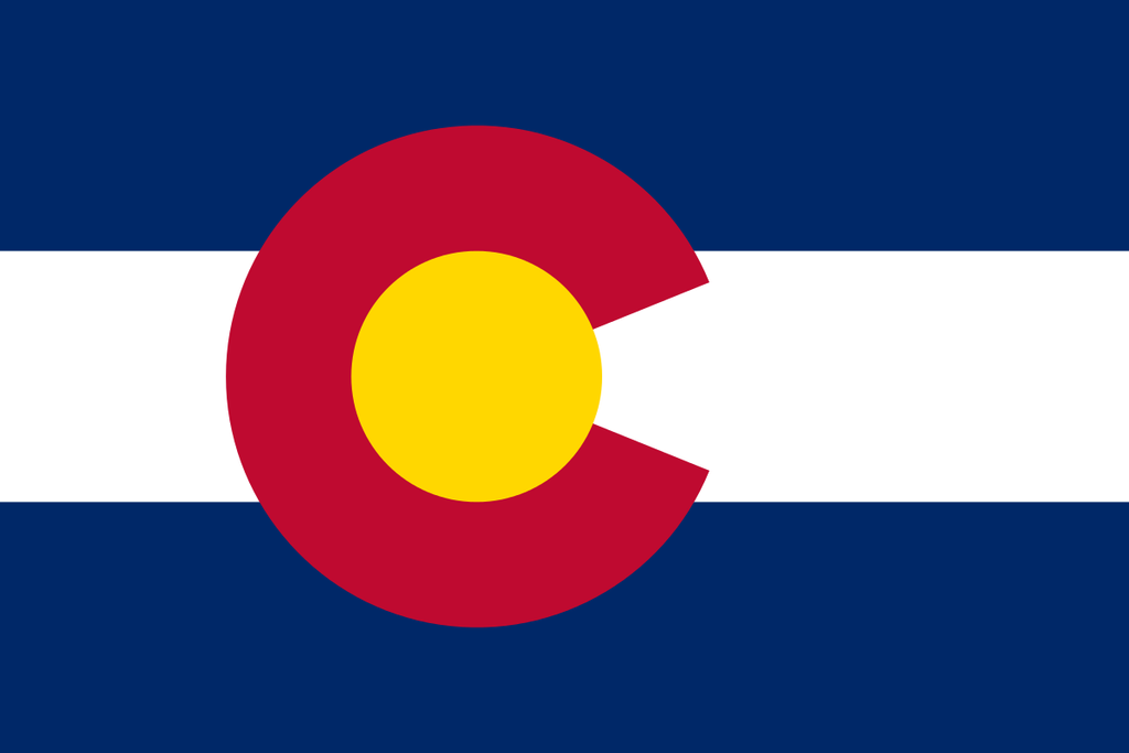 Colorado State Flag Wall Art - Down Home Products