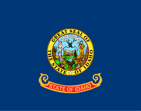 Idaho State Flag Wall Art - Down Home Products