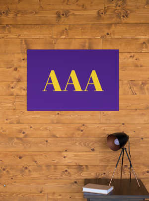 Louisiana State University Greek Letter Wall Art - Down Home Products