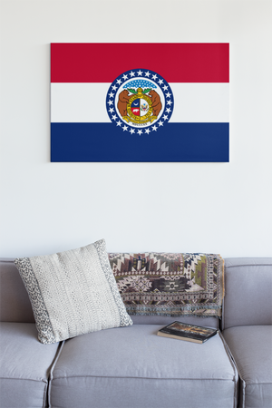 Missouri State Flag Wall Art - Down Home Products