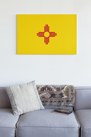New Mexico State Flag Wall Art - Down Home Products