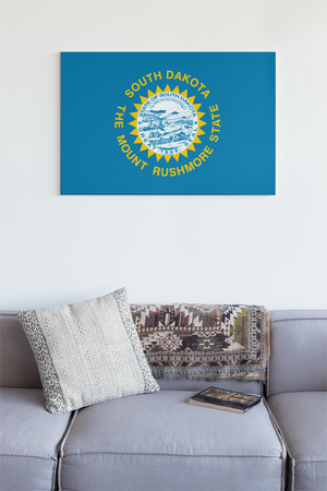 South Dakota State Flag Wall Art - Down Home Products