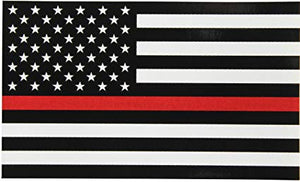 Thin Red Line Flag Wall Art - Down Home Products